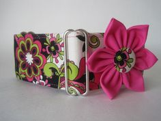 Pink Martingale Collar and Flower $33.99