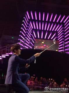 Lee Min Ho is precious... Even while using his selfie stick.