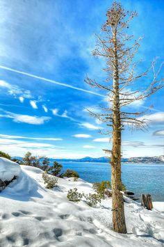 LakeTahoe in the Sierra Nevada
