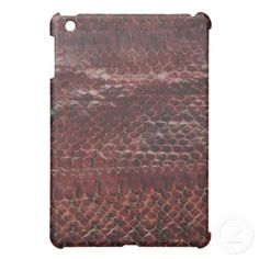 Brown Snake Skin Print Case Case For The iPad Mini FATHER'S DAY SALE 20% OFF SELECTED PRODUCTS USE CODE: FATHERSELECT http://www.zazzle.com/vanwinkle