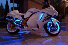 White - Blue Glow