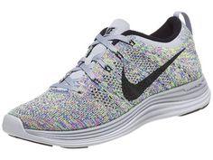 Nike Flyknit Lunar1+ Grey/Royal/Black Women's Shoes