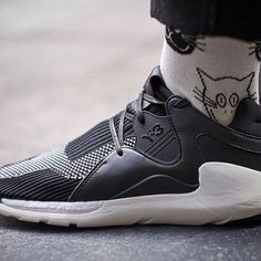 #otf shot by our photographer @kevfostercom of the Y-3 Boost QR. Head over to win.philipbrownemenswear.co.uk or @kick.advisor to check out how to get your hands on a pair.  #Y3 #yohji #yohjiyamamoto #boost #QR #otf #philipbrownemenswear by philipbrownemenswear