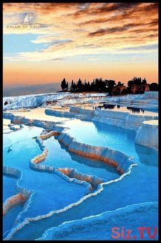 Pamukkale Türkei - Picture of List Pamukkale, Landscape Photography, Nature Photography, Travel Photography, Beautiful Places To Travel, Beautiful World, Beautiful Sunset, Places Around The World, Amazing Nature