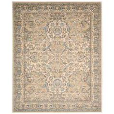 Shop for Nourison Timeless Beige Rug (8'6 x 11'6). Get free shipping at Overstock.com - Your Online Home Decor Outlet Store! Get 5% in rewards with Club O!