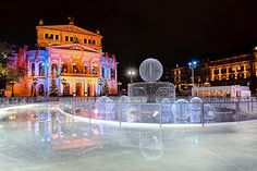 Opera On the Ice, in Frankfurt, Germany - Taken by Philipp Kinger Photography