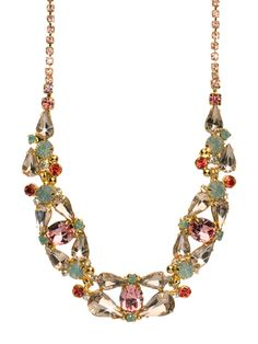 Splash in Sparkle Classic Necklace in Coral Reef by Sorrelli - $170.00 (http://www.sorrelli.com/products/NCP4BGCOR)