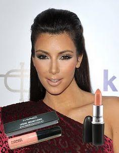 "MAC Lipstick in ""Angel"""