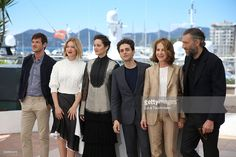 Gaspard Ulliel, Lea Seydoux, Marion Cotillard, Xavier Dolan, Nathalie Baye and Vincent Cassel attend the 'It's Only The End Of The World (Juste La Fin Du Monde)' Photocall during the 69th annual Cannes Film Festival at the Palais des Festivals on May 19, 2016 in Cannes, France.