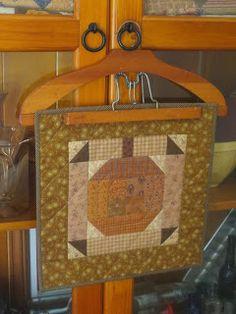 Life is Good Cute little pumpkin from Primitive Quilts and Projects via http://www.petrieprincess.blogspot.com/