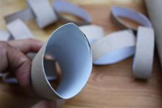 DIY Project: Toilet Paper Roll Wall Art