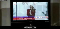 Here is Holly with the weather… #lol #haha #funny