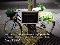 #TalengoQuotes Las personas extraordinarias lo son, por hacer cosas ordinarias, extraordinariamente bien. Krista Walochik