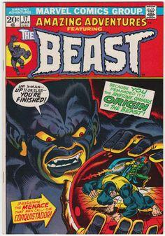 Amazing Adventures #17 VF+: Last The Beast, Origin reprinted from X-Men #49-53, X-Men appear, Jim Starlin artwork and cover art. $50.50