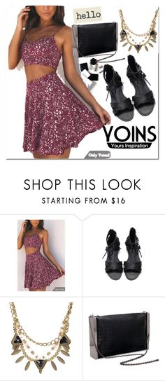 """""""Yoins#21"""" by bamra ❤ liked on Polyvore featuring H&M, yoins, yoinscollection and loveyoins"""