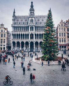 An Early Morning Walk — everything-thing:  Brussels Grand Place byAlan...