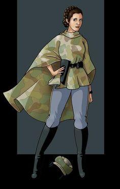 Leia ROTJ Endor costume