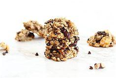 Flourless banana breakfast cookies