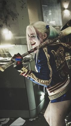 Movie/Suicide Squad Wallpaper ID: 744904 - Mobile Abyss Arlequina Margot Robbie, Margot Robbie Harley Quinn, Female Superheroes And Villains, Video Romance, Joker Clown, Harely Quinn, Harley Quinn Comic, Sexy Drawings, Cosplay