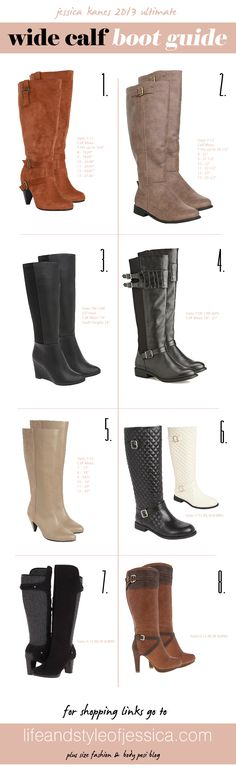 8 Perfect Wide Calf Boots for Winter – Plus Size Street Style SKORCH Magazine Blog- wow never seen this, this is def. what i need - ive NEVER been able to wear cute boots bc my calves are too big.