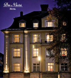 Fancy Nikolai Hotel Munich