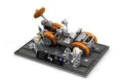 Hello and welcome to my next Idea: The Lunar Roving Vehicle (Lunar Rover) The Lunar Roving Vehicle (LRV) or lunar rover was a battery-powered four-wheeled rover used on the Mo...