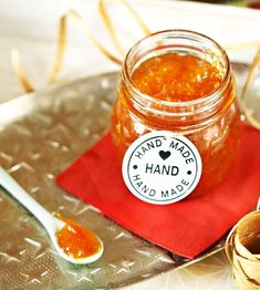 A legjobb házi narancslekvár   Street Kitchen Dessert Recipes, Desserts, Vegetables, Fruit, Cooking, Handmade, Food, Tailgate Desserts, Kitchen