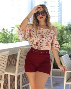 Ropa juvenil de verano в 2019 г. Summer Fashion Outfits, Preppy Outfits, Mom Outfits, Western Outfits, Classic Outfits, Fashion Dresses, Cute Dresses, Short Dresses, Short Sleeve Collared Shirts