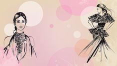 Desktopwallpaper with fashionillustrations on a soft blush and pink background. Free Download! #fashionillustration #fashion #illustration #hautecouture #deskatopwallpaper #wallpaper # fashiondesign #lifestyle Wallpaper Dekstop, Desktop, Chic Wallpaper, Haute Couture Fashion, Blush, Wallpapers, Interior Design, Lifestyle, Illustration