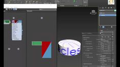 """3DS  Max  2017  New  Feature  """"TEXTMAP""""  1080p/60fps"""
