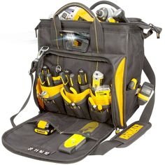 nice Lighted Technicians Device bag DeWalt DGL573 New