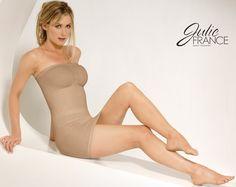 Julie France Strapless Dress Shaper $75.00; body shaper, lingerie, undergarments