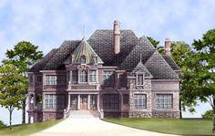 Archival Designs' Luxury Starter Castle, Kildare Castle Front Rendering