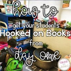 Find out how to get your students hooked on reading right away in the new school year. Beginning Of The School Year, New School Year, Elementary Teacher, Elementary Schools, Reading Incentives, Teaching Reading, Teaching Ideas, Creative Teaching, Reading Activities