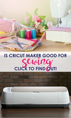 Is Cricut Maker Actually Good for Sewing? Should all sewists invest in Cricut Maker? Get an honest answer to your questions to help you decided if Cricut Maker will actually help you out. Bag Patterns To Sew, Sewing Patterns Free, Free Sewing, Hand Sewing, Sewing Basics, Sewing Hacks, Sewing Tutorials, Sewing Tips, Basic Sewing
