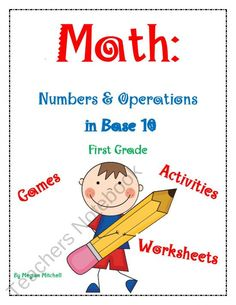... on Pinterest | Place Values, Tens And Ones and Base Ten Activities