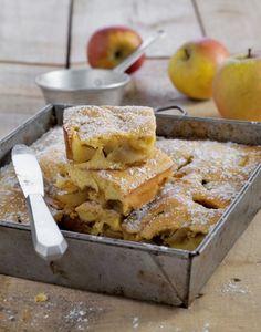 Gâteau brioché aux pommes