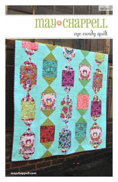 Showcase your favorite fabric in this fun and fast pattern! Pattern includes Baby through King.    Limit of 18 Items may be produced for commercial
