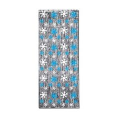 Sleigh bells ring, are you listening? In the lane, snow is glistening, walk into a Winter Wonderland when you hang up this Snowflake 1-Ply Gleam N Curtain at the entryway to your venue. There is nothing like entering a room filled with sparkling snowflakes and soft white snow.