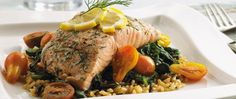 Salmon con Eneldo y Limón