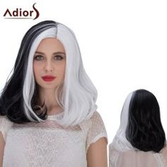 SHARE & Get it FREE | Adiors Hair Double Color Medium Middle Part Straight Cosplay Synthetic WigFor Fashion Lovers only:80,000+ Items • FREE SHIPPING Join Twinkledeals: Get YOUR $50 NOW!