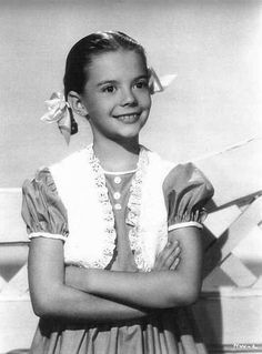 Child star Natalie Wood ready for success.  She was beautiful as a child as she was a women...
