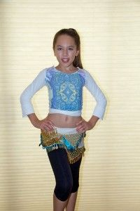 What to wear to a Belly Motions KIDS Belly Dance Class