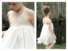 Hummingbird Dress - girls' summer dress - PDF pattern, plus $3 add on Pantsuit
