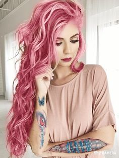 Bubblegum hair