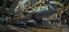 under construction by Ioan Dumitrescu | Sci-Fi | 2D | CGSociety