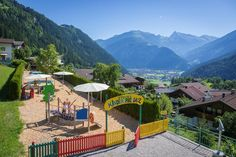 #playground #withaview #zillertal #stockresort #wearefamily Spa, Wellness, Patio, Outdoor Decor, Home Decor, Families, Vacation, Kids, Homemade Home Decor
