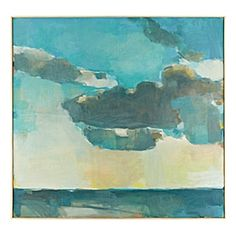 """Weather Over Sea"". #serenaandlily"