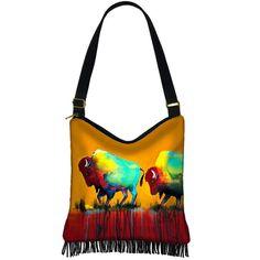 Clara Nilles Hippie Bag Hobo Purse Crossbody Slouch Bag Gyspy Boho... (60 CAD) ❤ liked on Polyvore featuring bags, handbags, shoulder bags, hand bags, fringe crossbody purse, man bag, hippie purses crossbody and crossbody purses