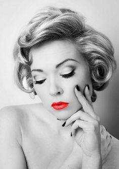 Rockabilly hairstyles and makeup